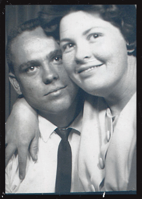Mike's parents in 1965, about a year after they were married.