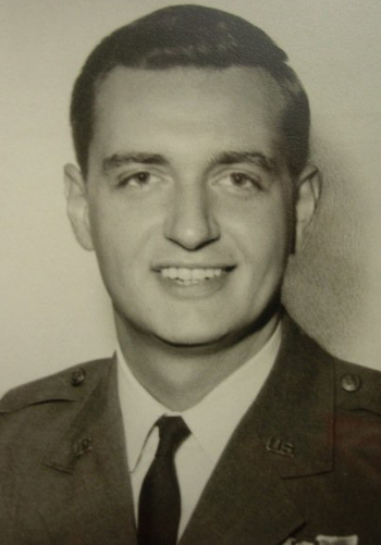 Margot's father, Air Force Captain John W. Carlson.