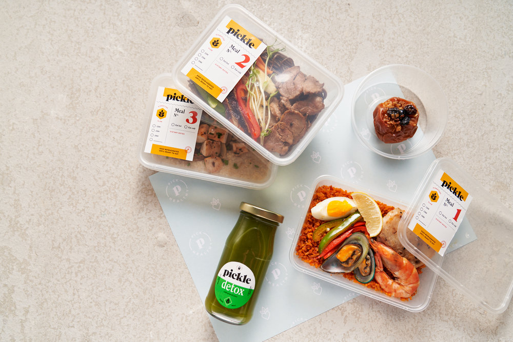 Our meal plans include: - ✓ Three calorie calculated, ready-to-eat meals and one snack for daily consumption✓ Free delivery five days a week with two delivery schedule options✓ Meal customization for allergens and sensitivities✓ Optional all-natural cold-pressed juice enriched with 100% Pure Barley Grass and Green Coffee Bean Extract to aid in weight-loss and digestion