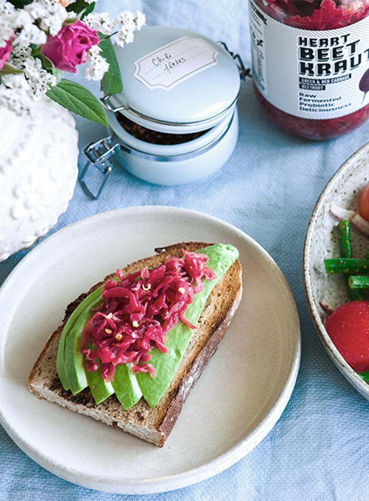 Heartbeet Kraut and Avocado on Toast.jpg