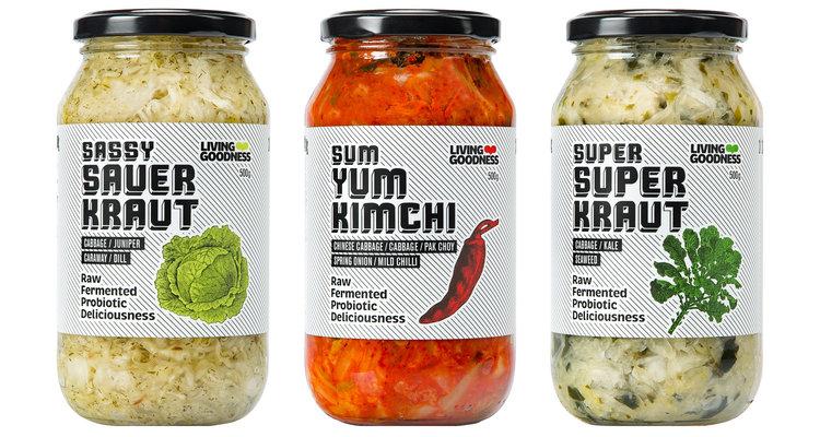 Living Goodness Raw Fermented Foods Full Of Probiotics