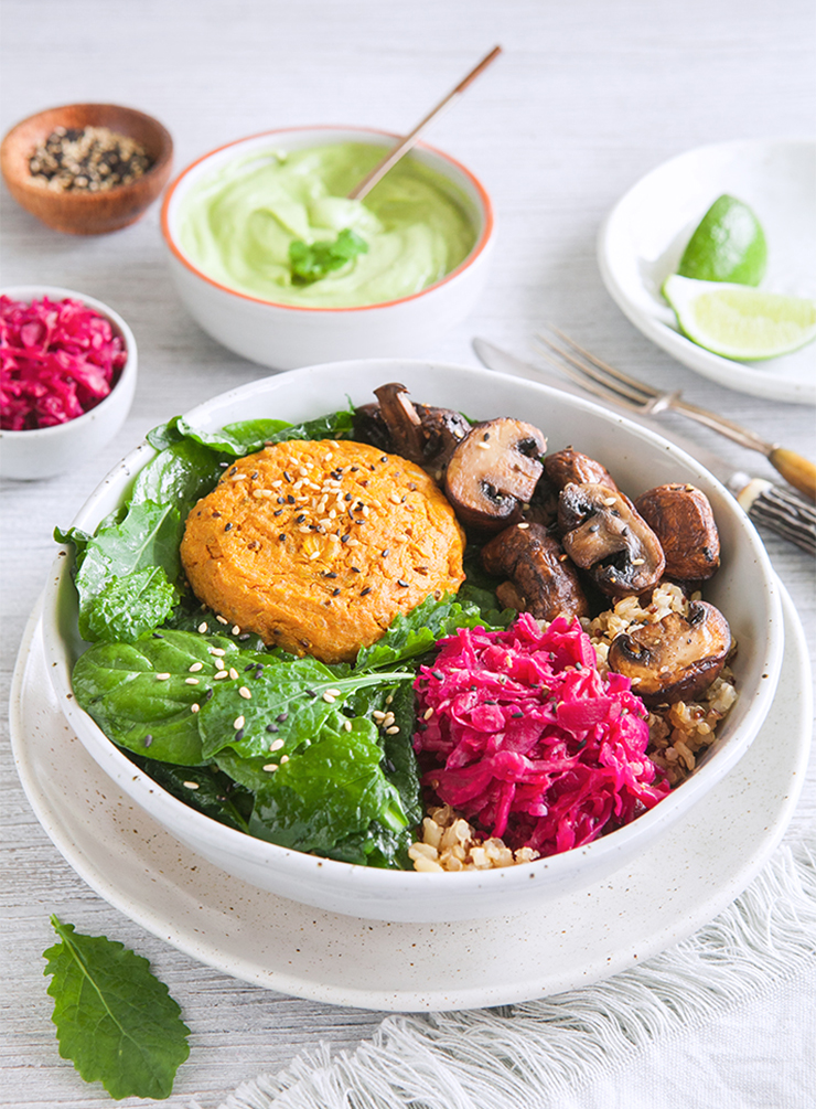 Kumara Burger Bowl with Avocado Sauce – Large.jpg