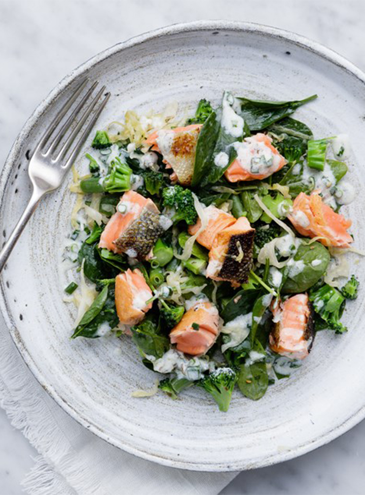 Salmon and Sauerkraut Salad with Chive and Garlic Drizzle – Large.jpg