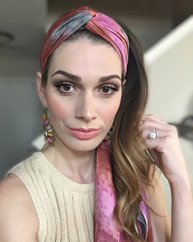 Wishing I could wear a head scarf to work!