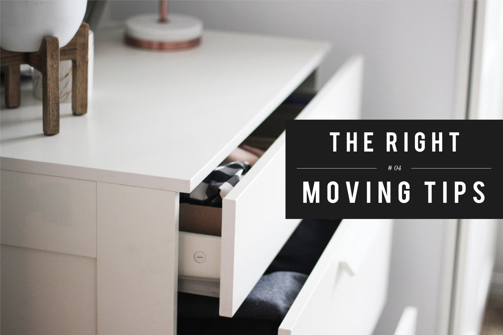 #4 One of our most commonly asked questions is whether or not you can leave your clothes in a dresser during your move. We think it is best for your dressers to have all drawers completely emptied for a move. In return the movers will save time removing and replacing the drawers.