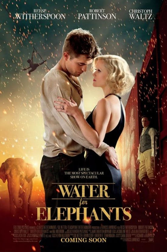 Both Reese Witherspoon & Christoph Waltz trained at Cirque School to prepare for their film  Water For Elephants
