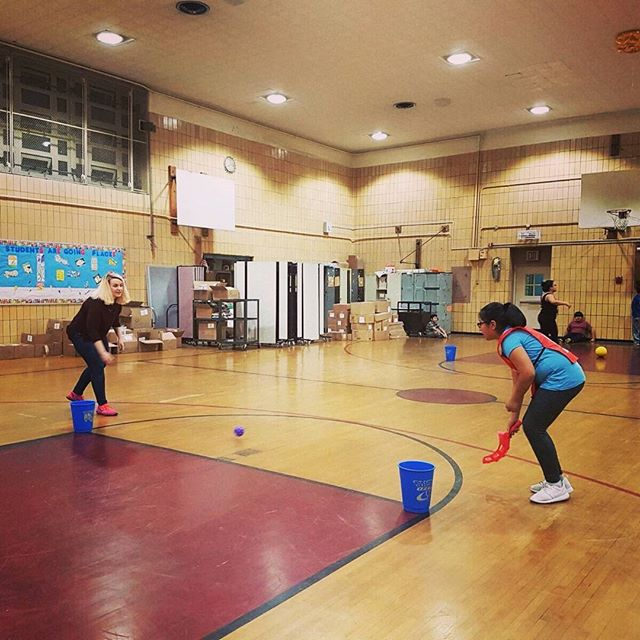 Special shout out to @qofastoria for volunteering her time & running an engaging physical education program for the students at our first cycle in March. #Focused #PhysEd #Education #Active #Community #Sunnyside #R2G #Family #Motivation #Queens