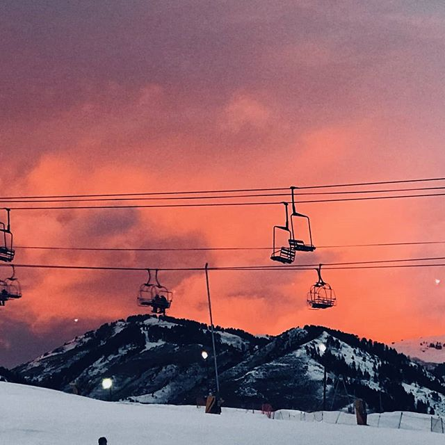 Date Night Skiing Friday 3-8pm 2 for $30. The best lighting!