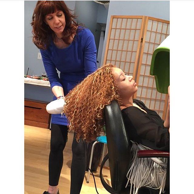Beautiful colored curls 🌀 you can color your hair and still have healthy beautiful hair.  #Deva#DevaCut#SuperCream#NaturalChix#NaturallyShesDope#CurlyGirls#luvyourmane#Kinkycurlyhair#naturalhair#curlsfothegirls#washandgo#mynaturalhairisdope#voiceofhair
