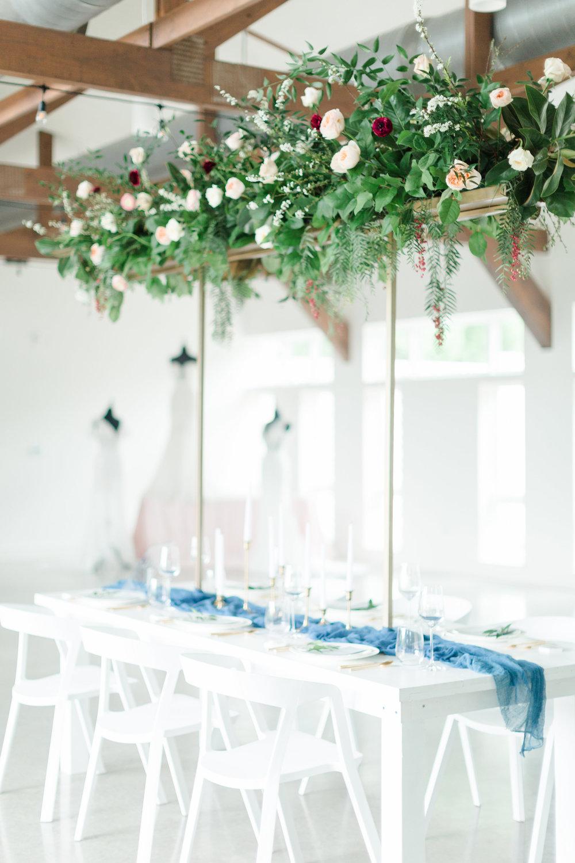 Austin Wedding Tall Flower Centerpiece Arrangement