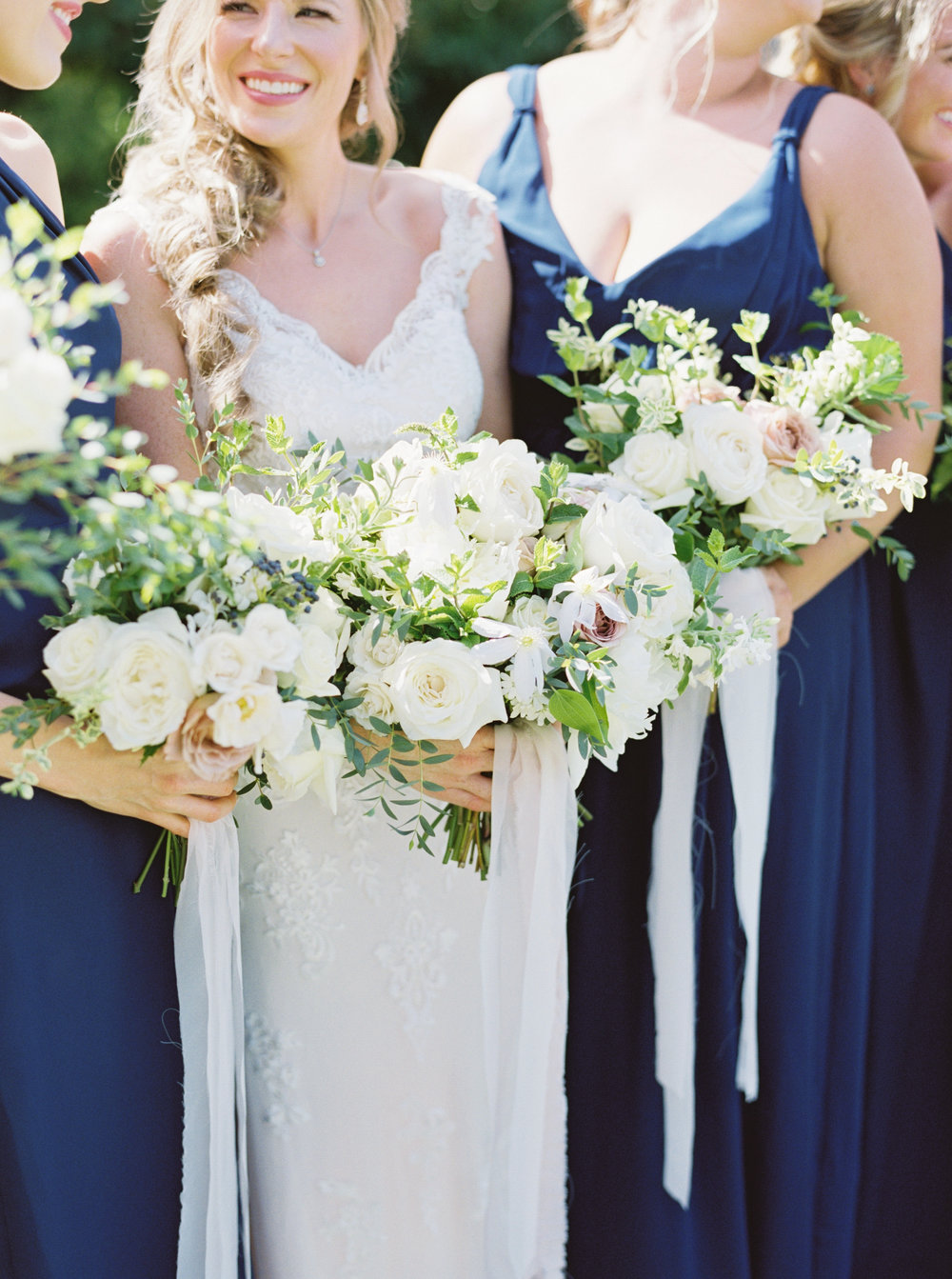 Austin Wedding Bride with Bouquet
