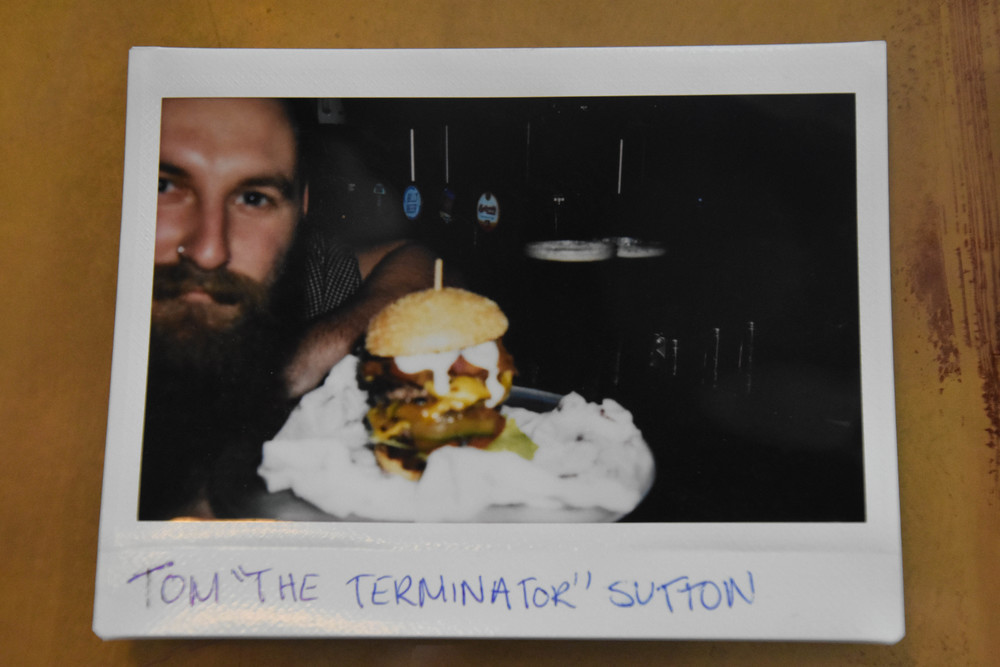 "TOM ""THE TERMINATOR"" SUTTON"
