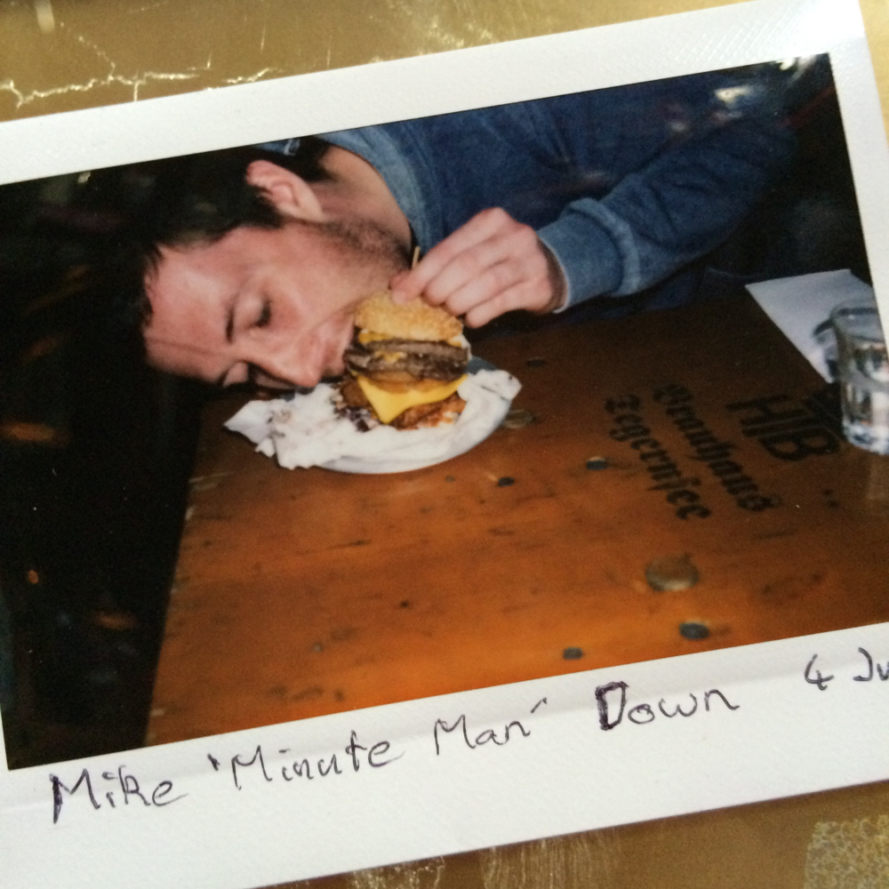 "MIKE ""MINUTE MAN"" DOWN"