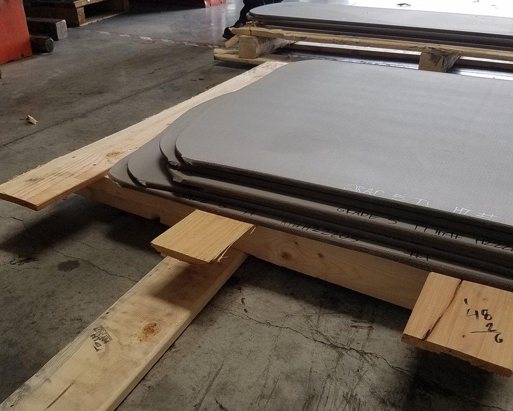 Rolled Titanium Plate AMS 4911