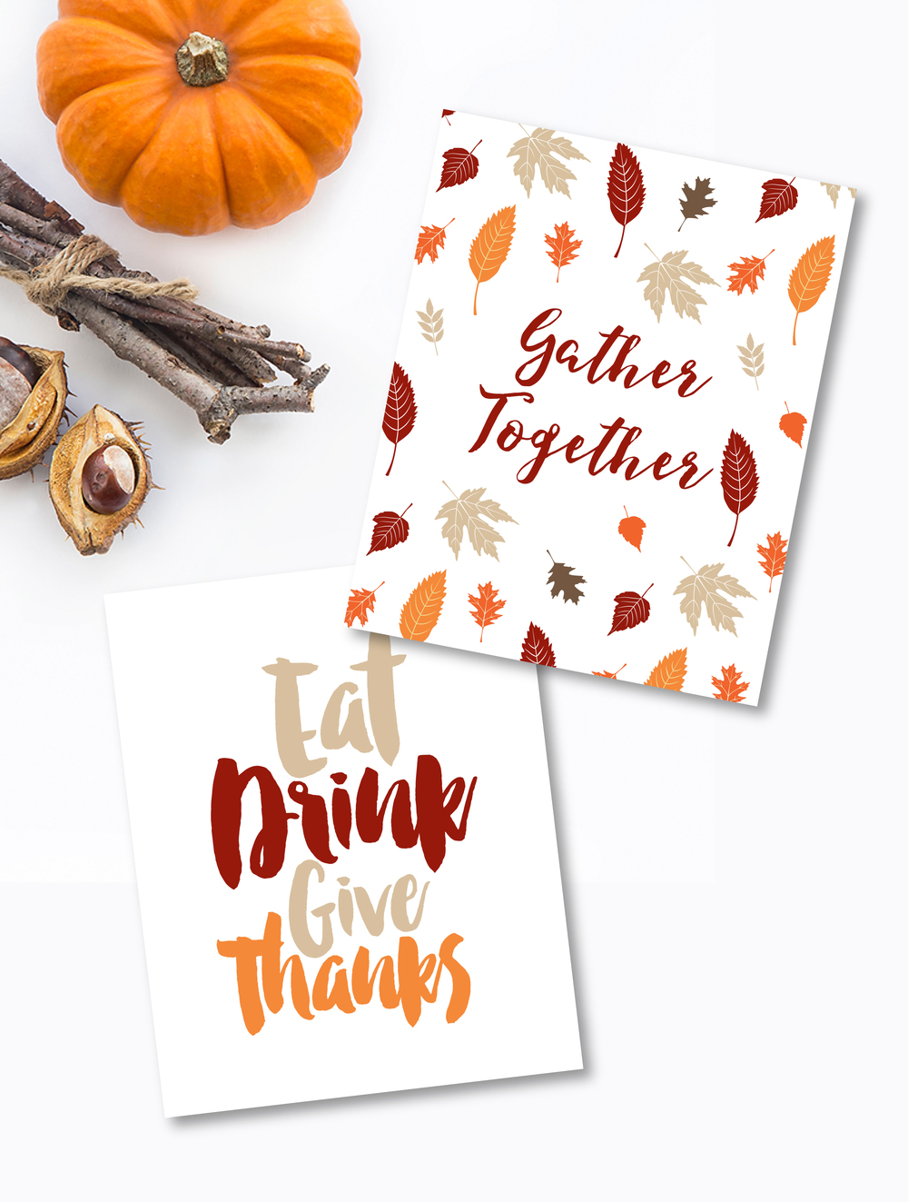 Free Thanksgiving Printables by MKKM Designs