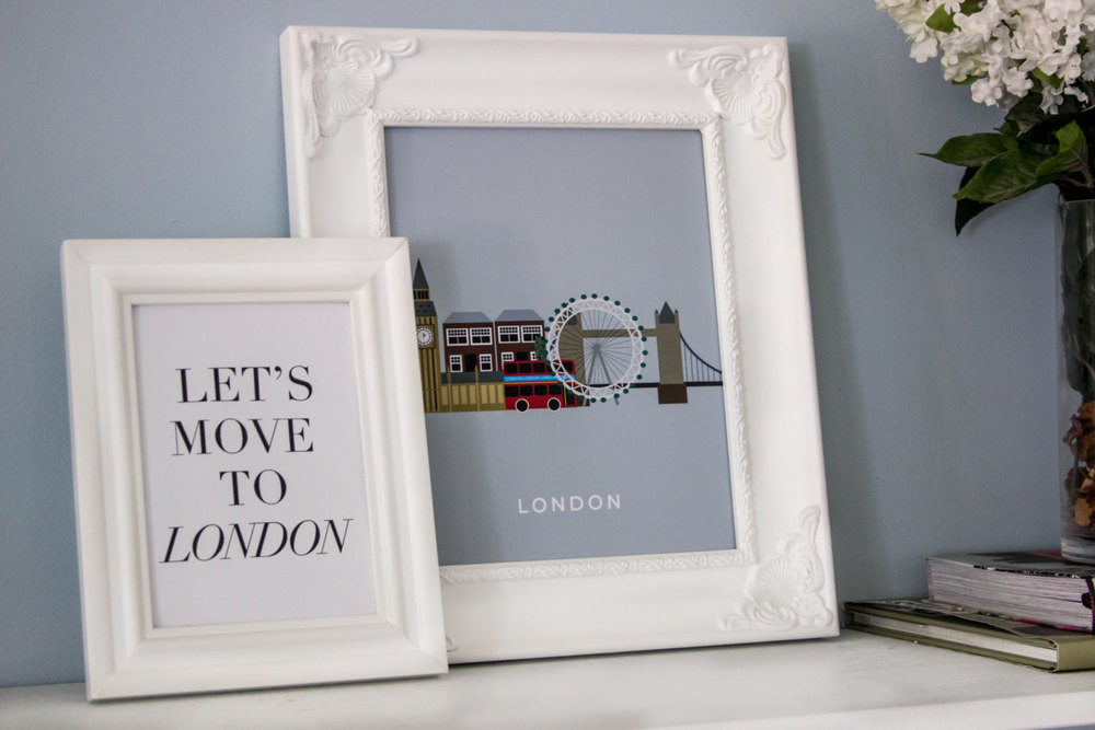 London Print by MKKM Designs