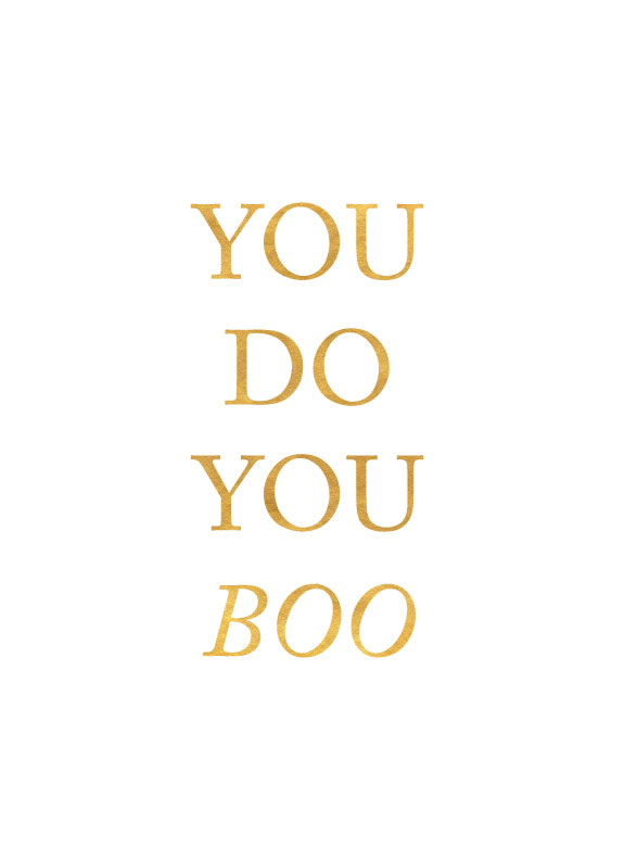 You Do You Boo. Goal chatting on the MKKM Blog