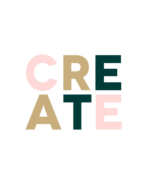Create, our 2016 word.