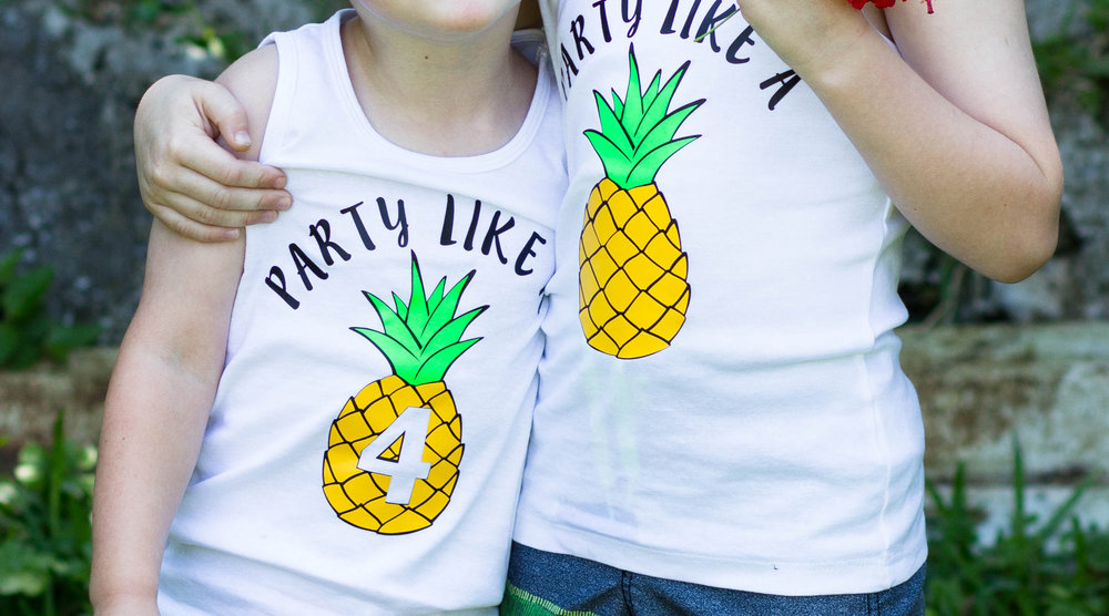 Party Like A Pineapple shirts created by Stuck on You