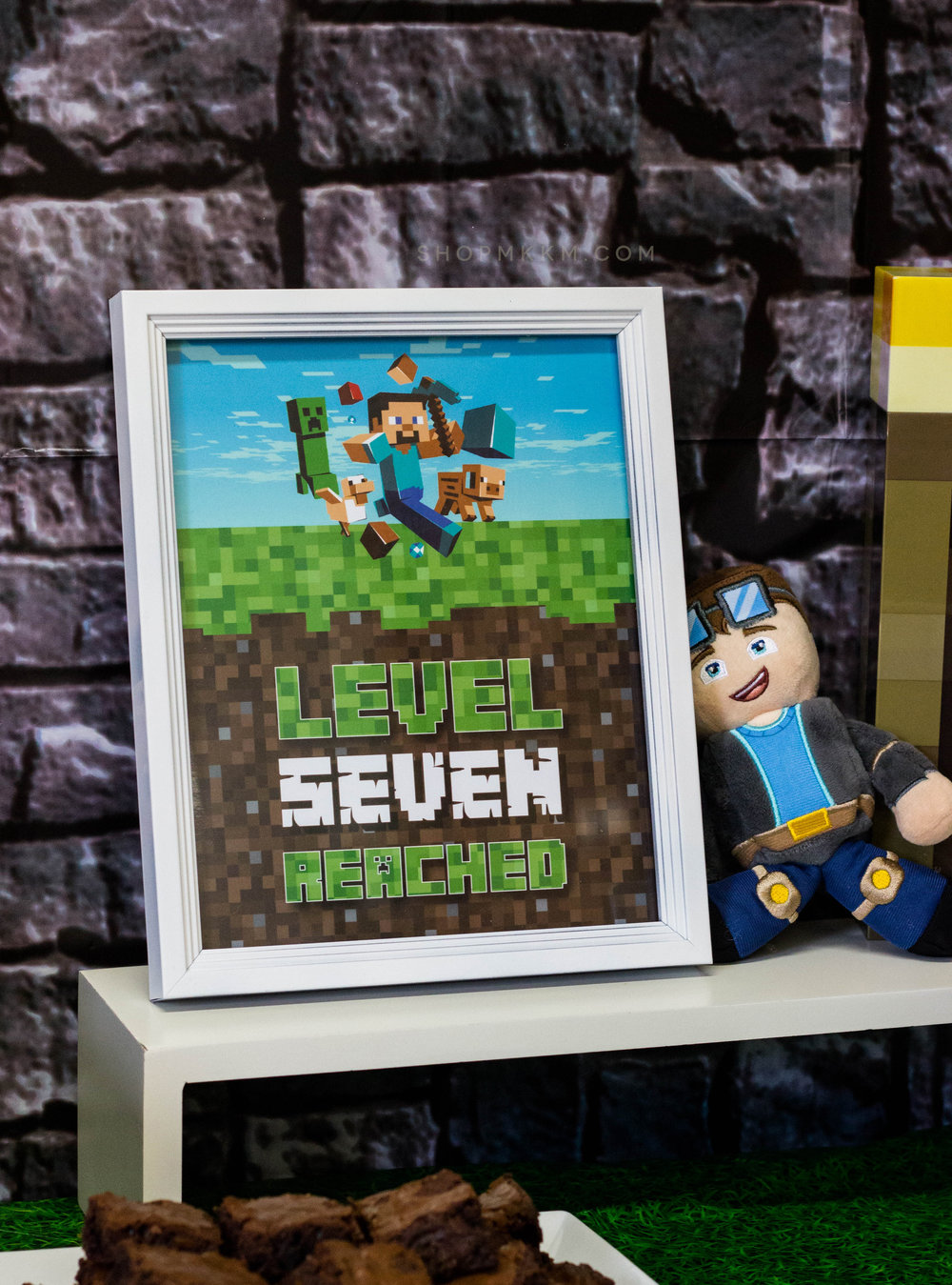 Minecraft Birthday Sign by MKKM Designs, Get your own in the shop mkkmdesigns.etsy.com