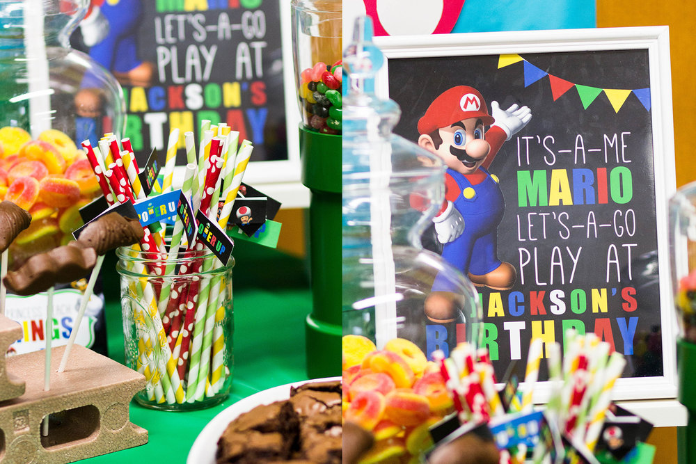 Super Mario Party Decor by MKKM Designs