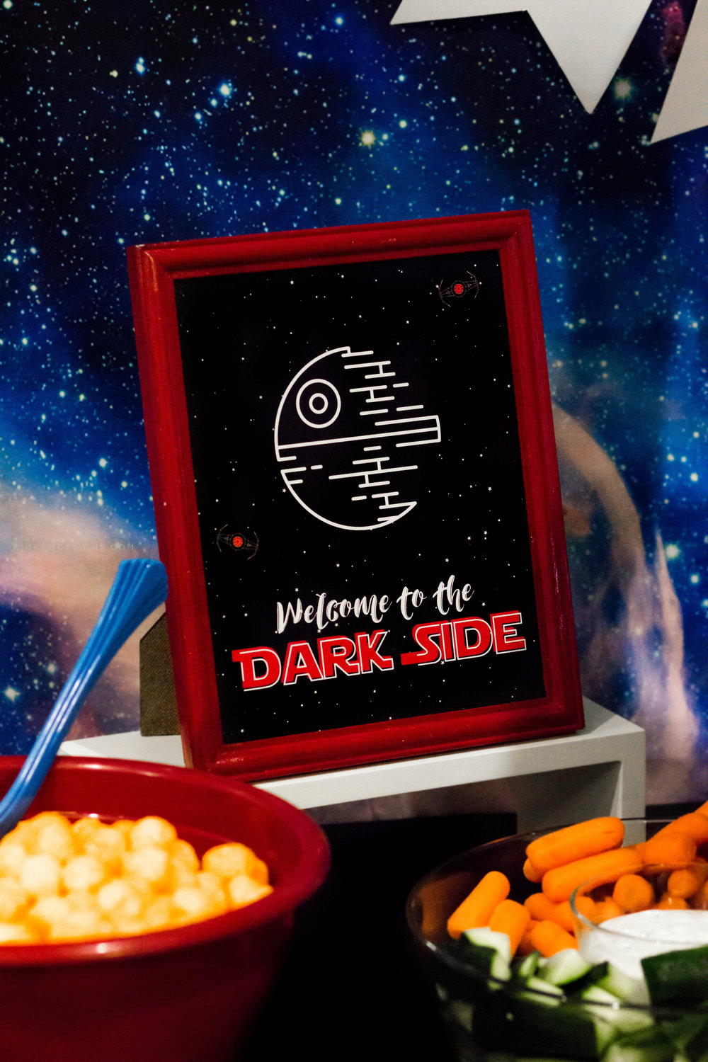 Free Star Wars Party Printables by MKKM Designs