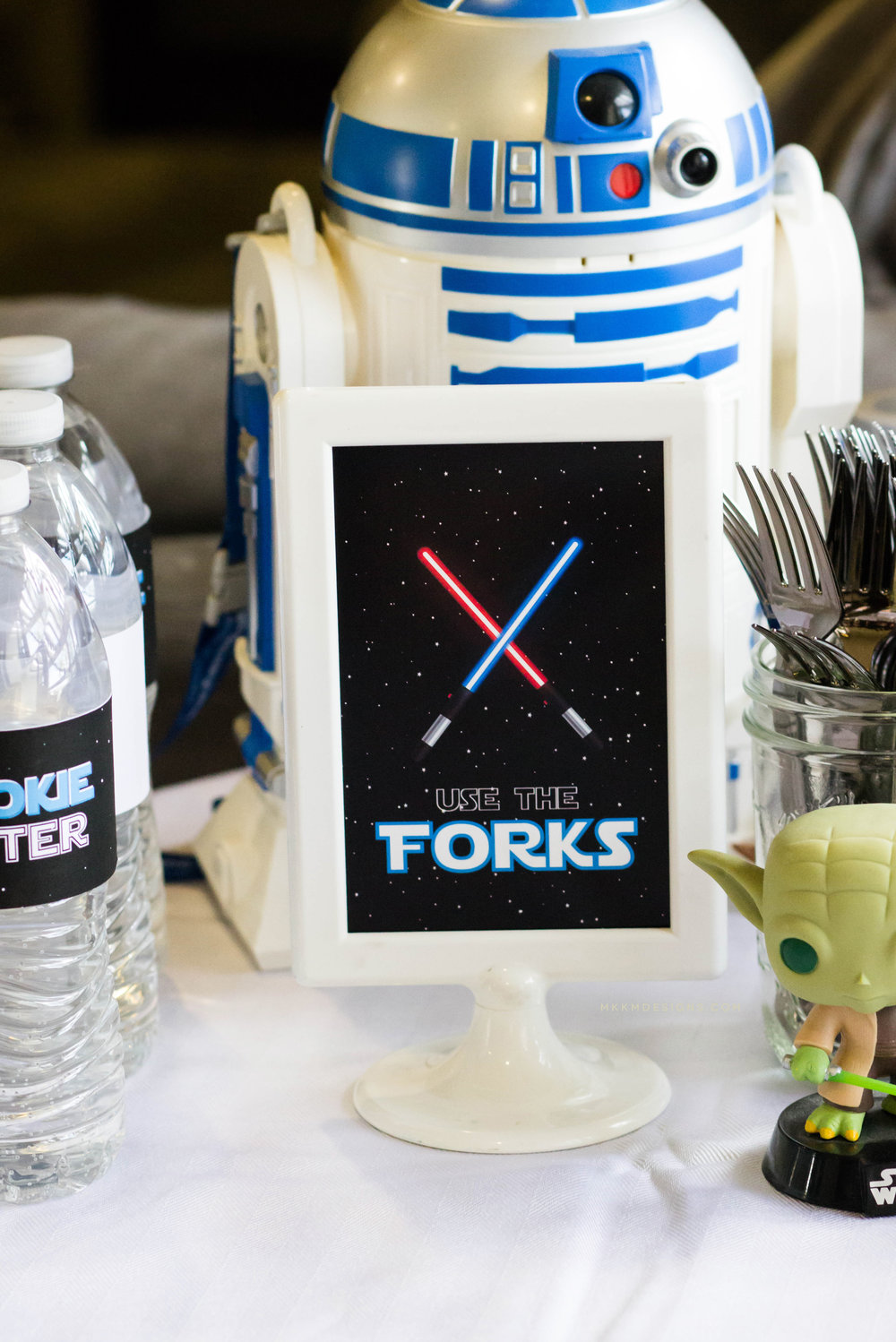 Use The Forks, Punny Star Wars Printables by MKKM Designs