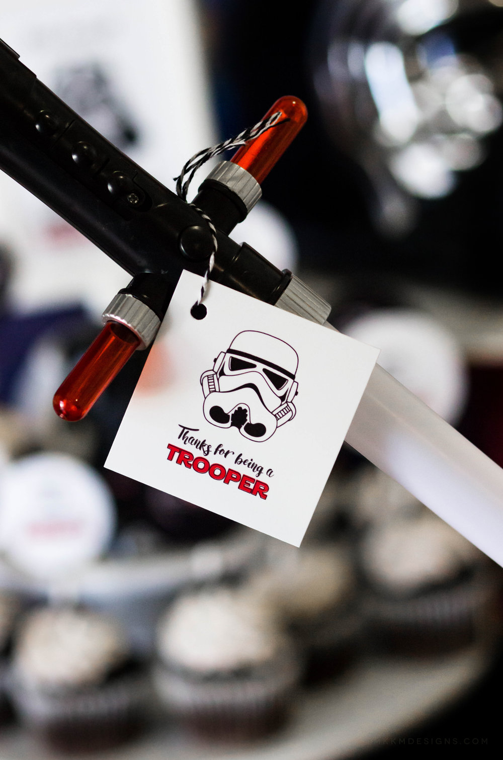 Star Wars Party Favor Tags by MKKM Designs