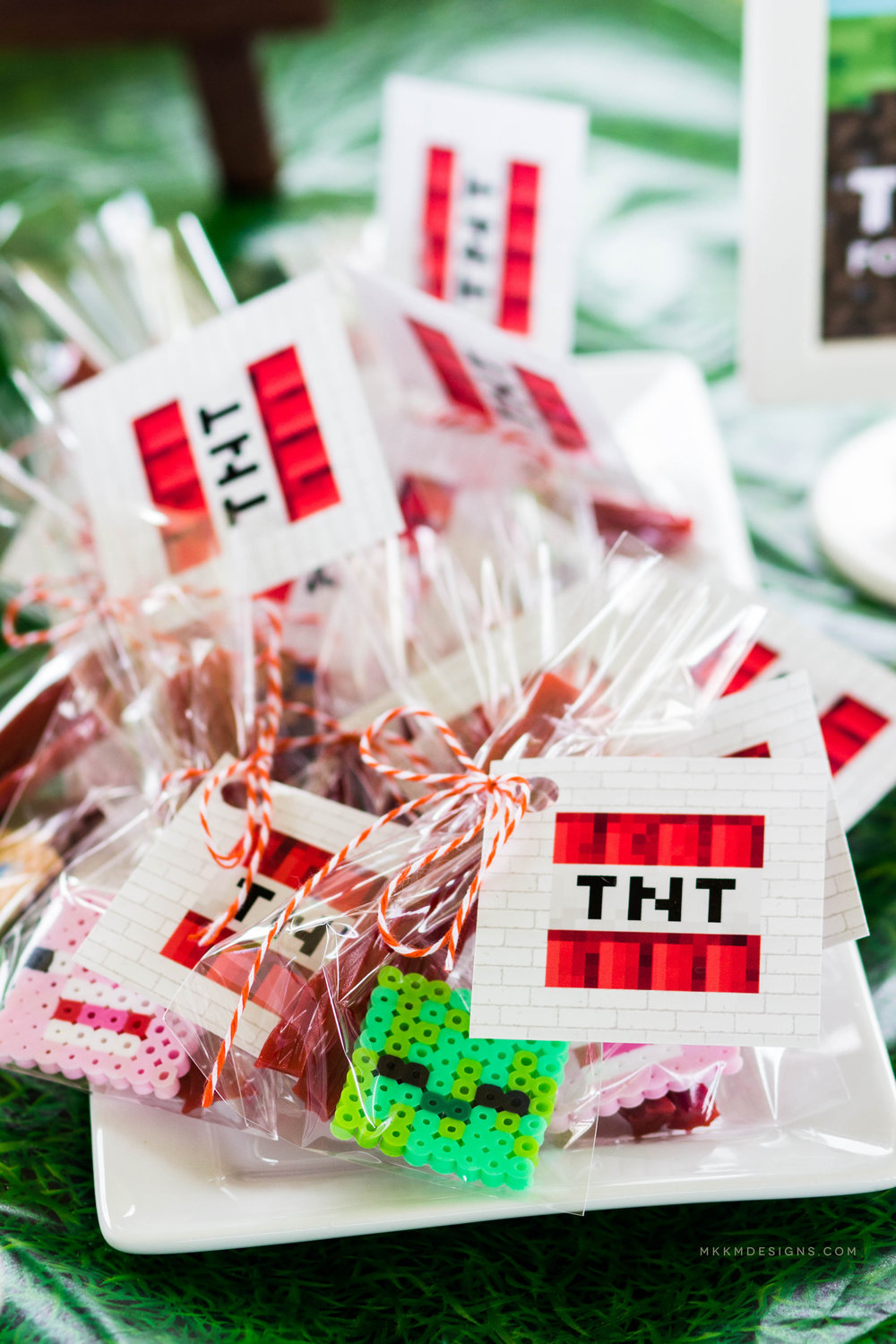Free Minecraft TNT tags by MKKM Designs