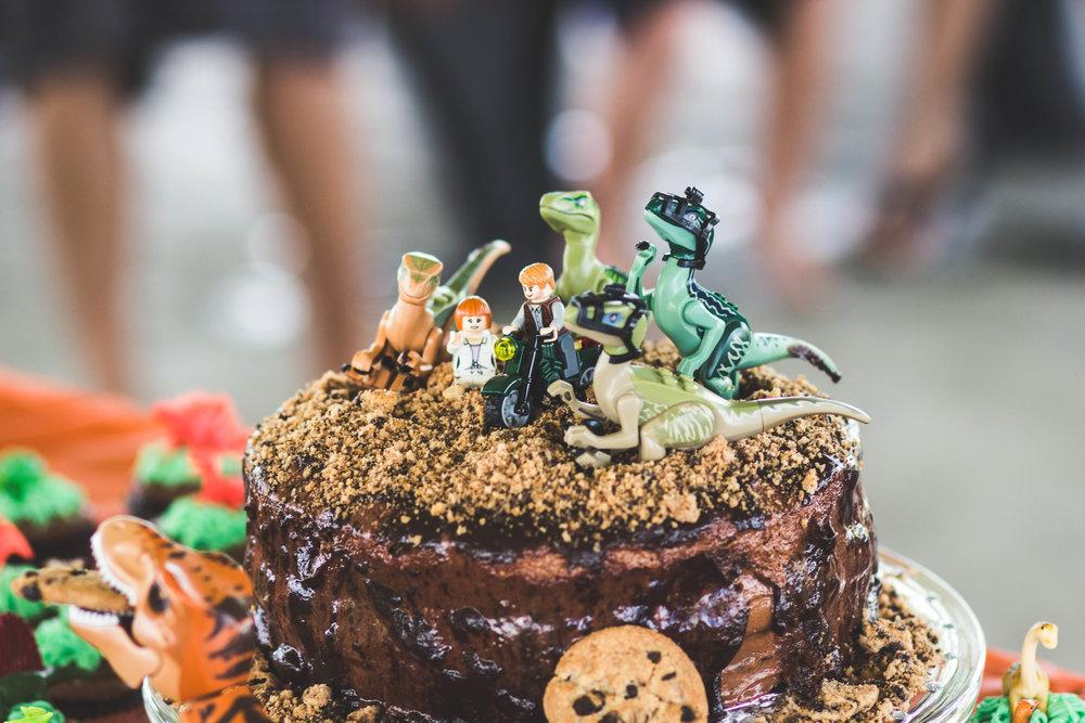 Jurassic World Cake. Check out dino party ideas on shopmkkm.com