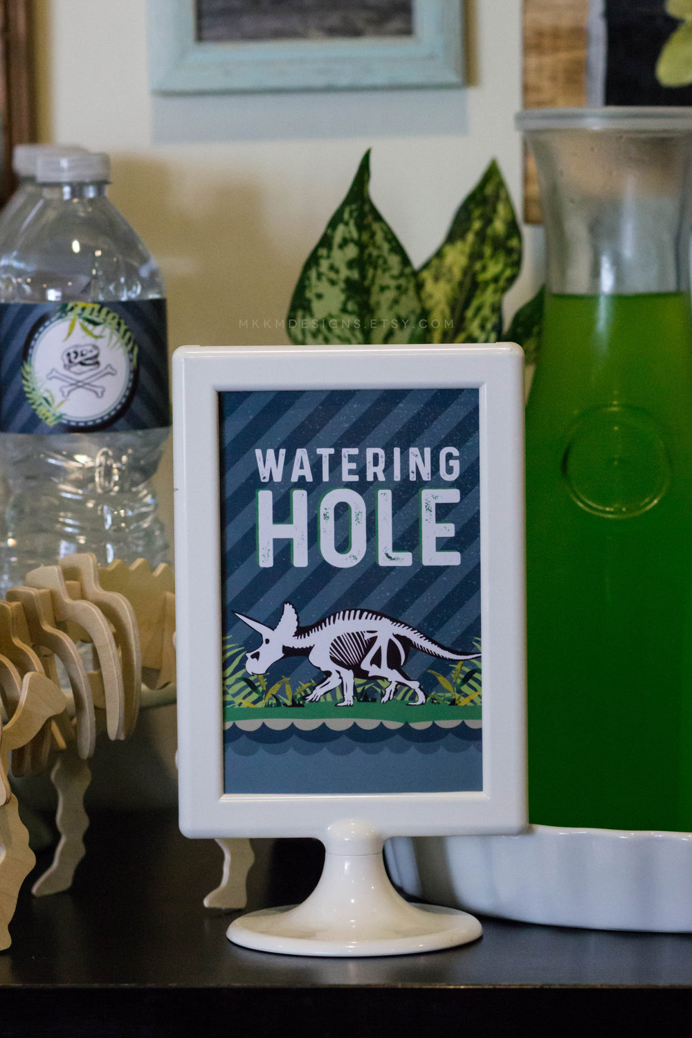 Watering Hole Party Sign by MKKM Designs