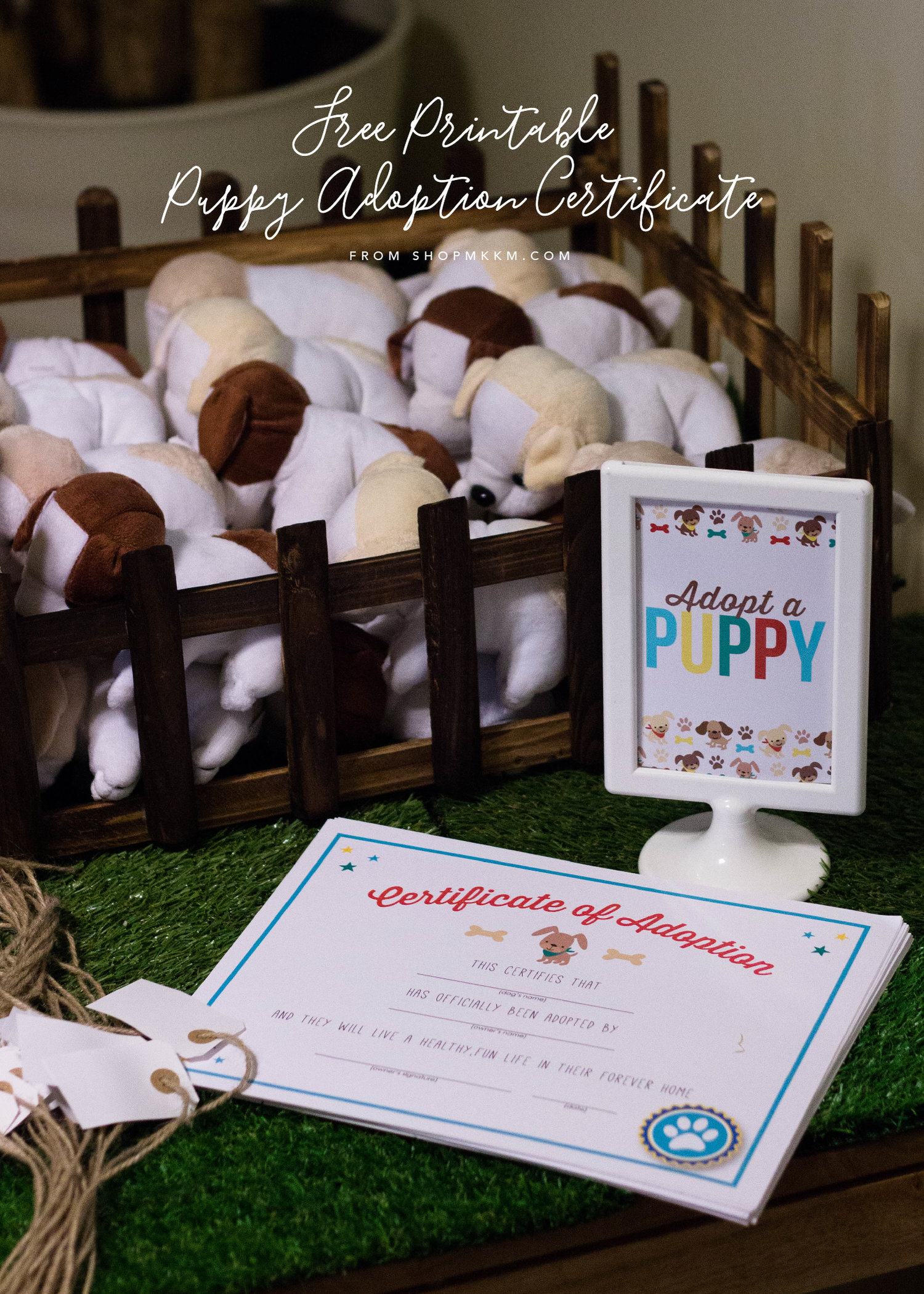 Lets Pawty Puppy Party Ideas And Free Printables Mkkm Designs