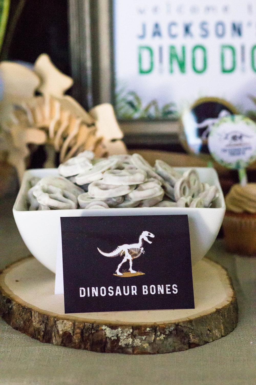 Dinosaur Bones food card download from shopmkkm.com
