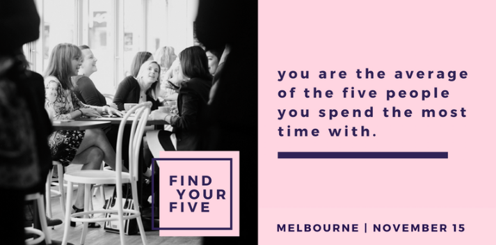 The League of Extraordinary Women are hosting a Find Your Five event on Wednesday, 15 November. Find Your Five is a platform that specifically curates powerful connections for female entrepreneurs to meet face-to-face in a mini-mastermind session. This is a great networking opportunity for female entrepreneurs. We encourage you to attend!