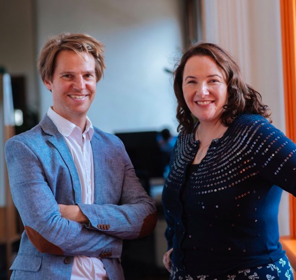 Healthkit founders Lachlan and Alison