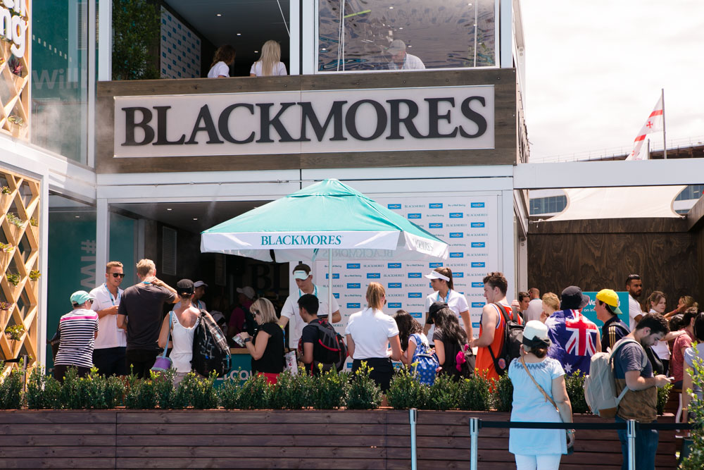 The Blackmores Wellbeing Oasis