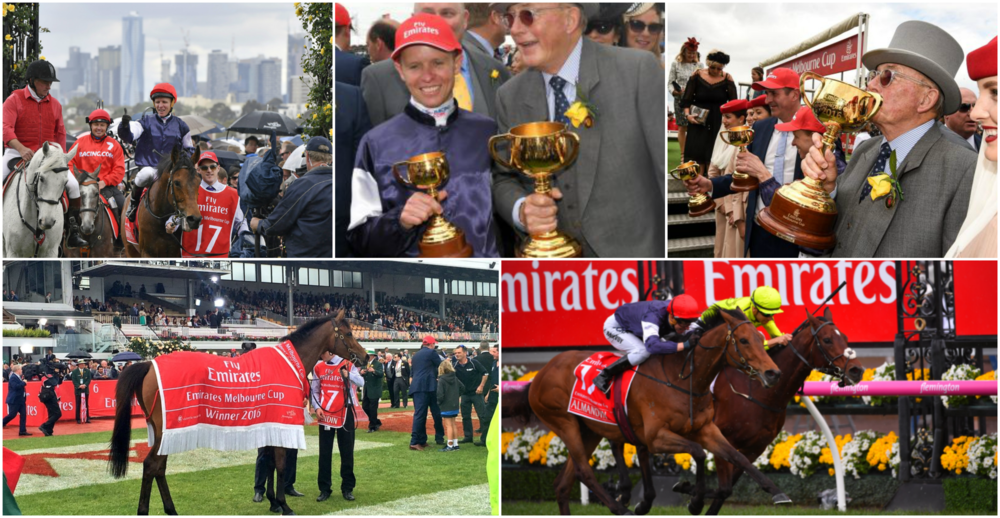 Anyone else notice the Emirates branding at the Melbourne Cup?