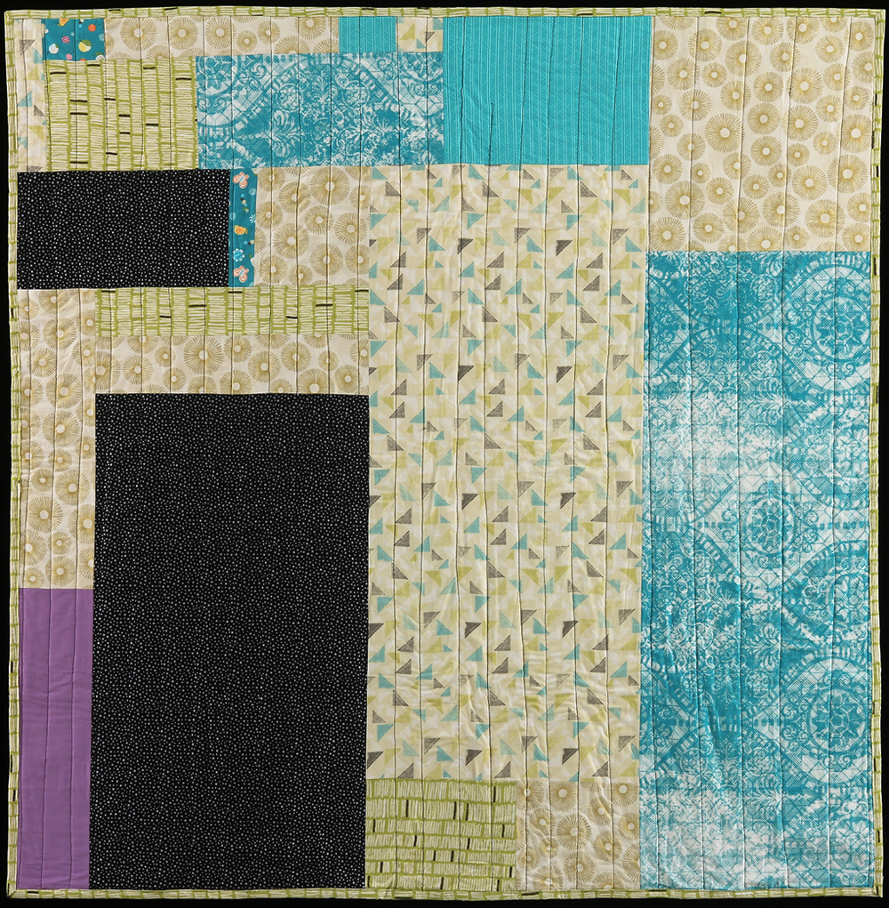 Community Quilt II (Back), 2016
