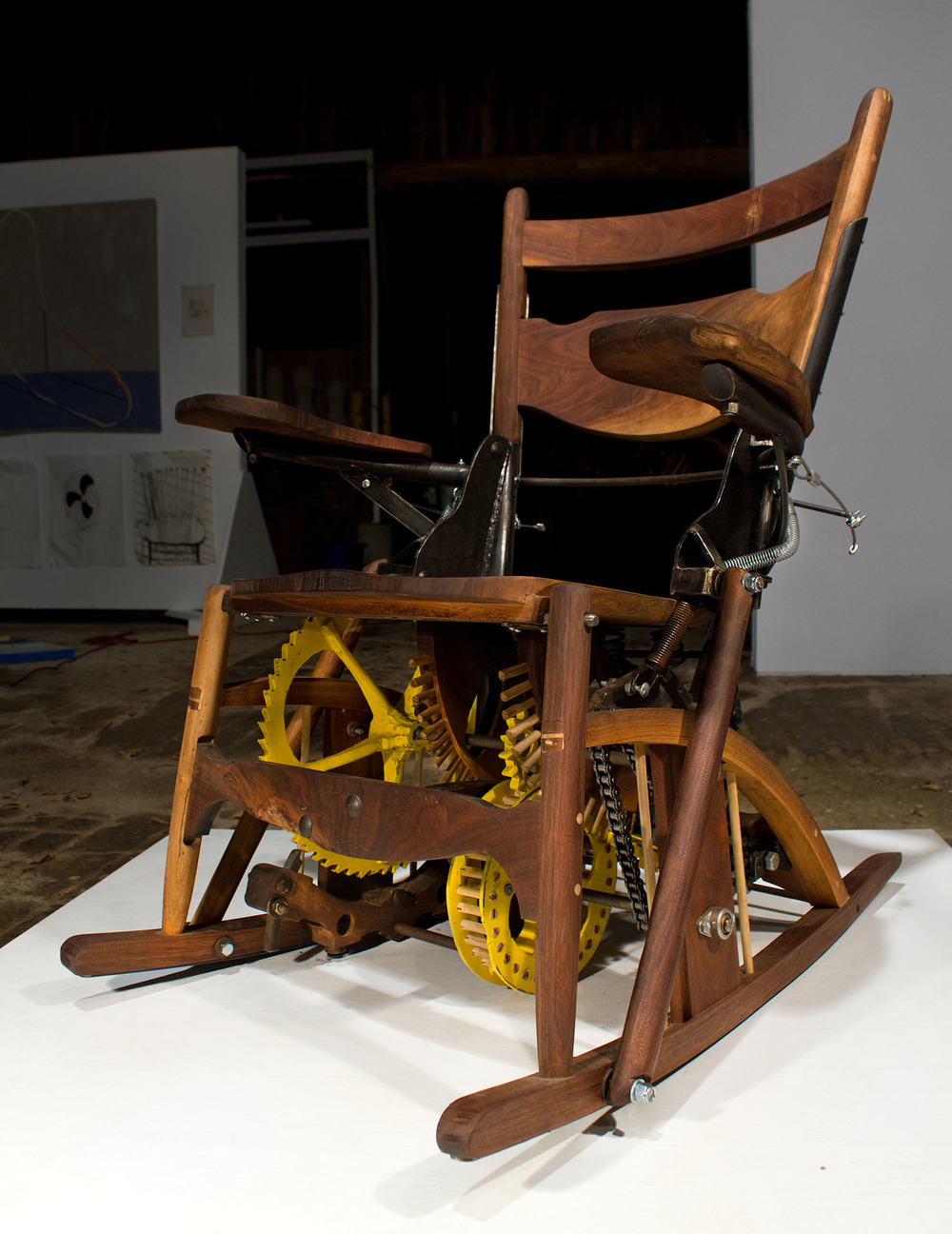 Clockwork Rocking Chair