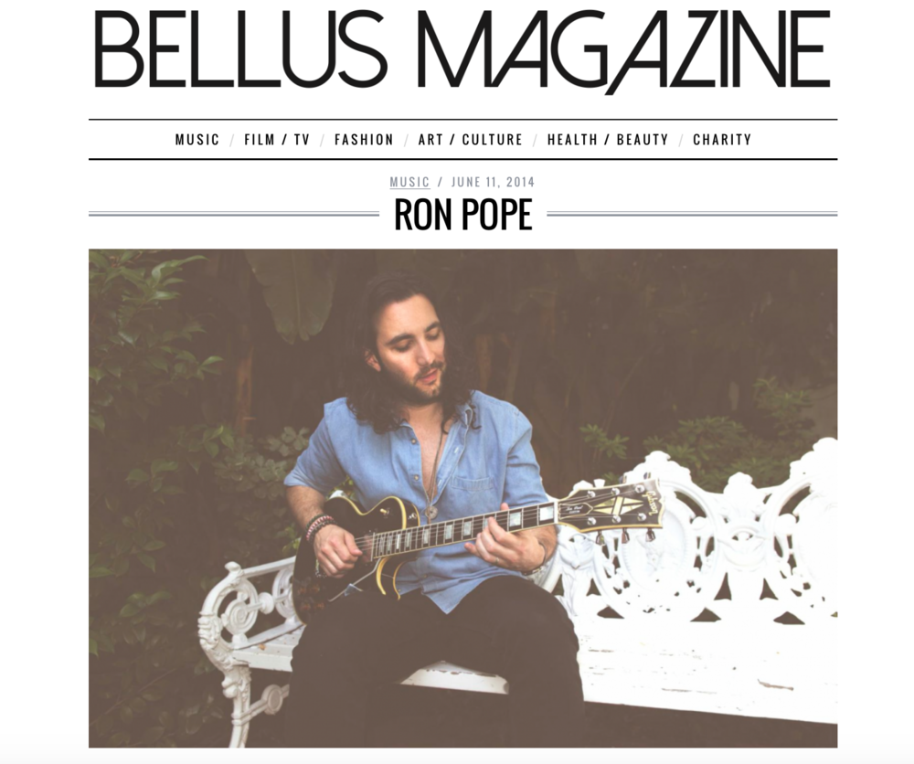 Ron Pope - Bellus Mag.png