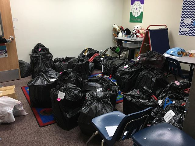 Multiple family donations at Memorial Elementary