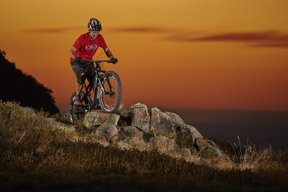 Pete Walsh rides the new Ibis Mojo 3.