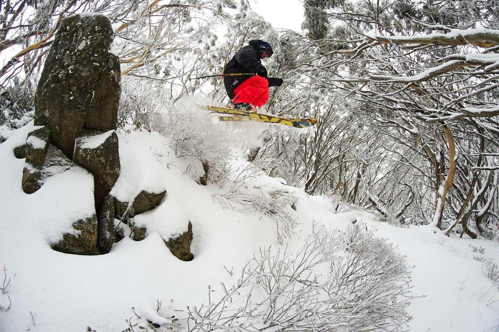 Andre Bennett Ski's Mt Buller