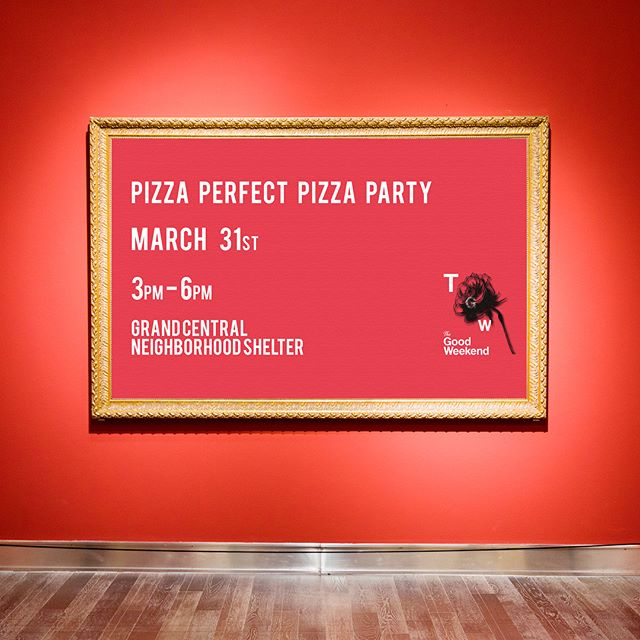 The Good Weekend returns with 'Pizza Perfect, Pizza Party' on March 31st at 3pm. Join us as we take over the evening meal service at the Grand Central Neighborhood Shelter. . RSVP, DONATE at http://www.campryan.com or link in the bio.  #CampRyan #TheGoodWeekend