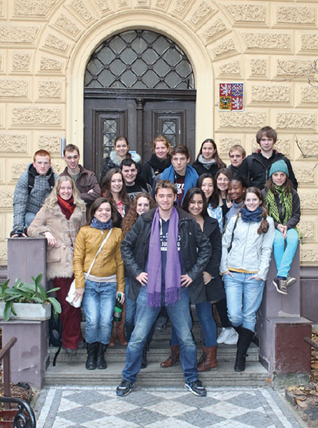 GAIA Students in Prague