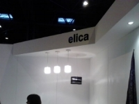 Elica display at New Designers