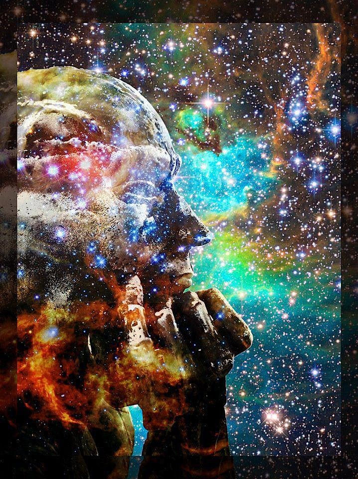 """""""You are not IN the universe, you ARE the universe, an intrinsic part of it. Ultimately you are not a person, but a focal point where the universe is becoming conscious of itself. What an amazing miracle."""" ― Eckhart Tolle, A New Earth"""
