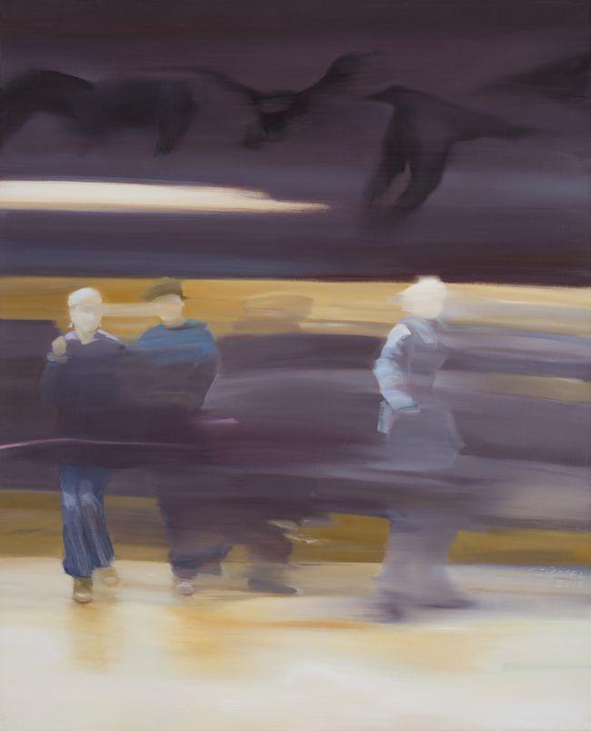 Nevermore huile sur toile 100 x 81 cm