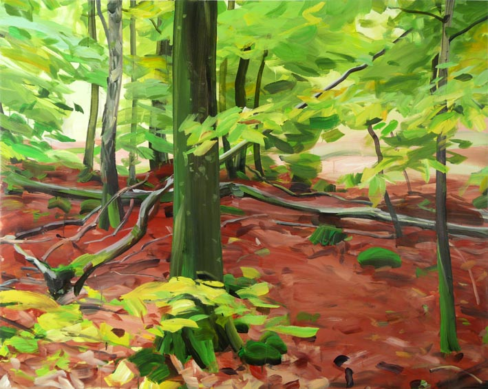 Forêt 5 Acrylique/Toile 130 x 162 cm