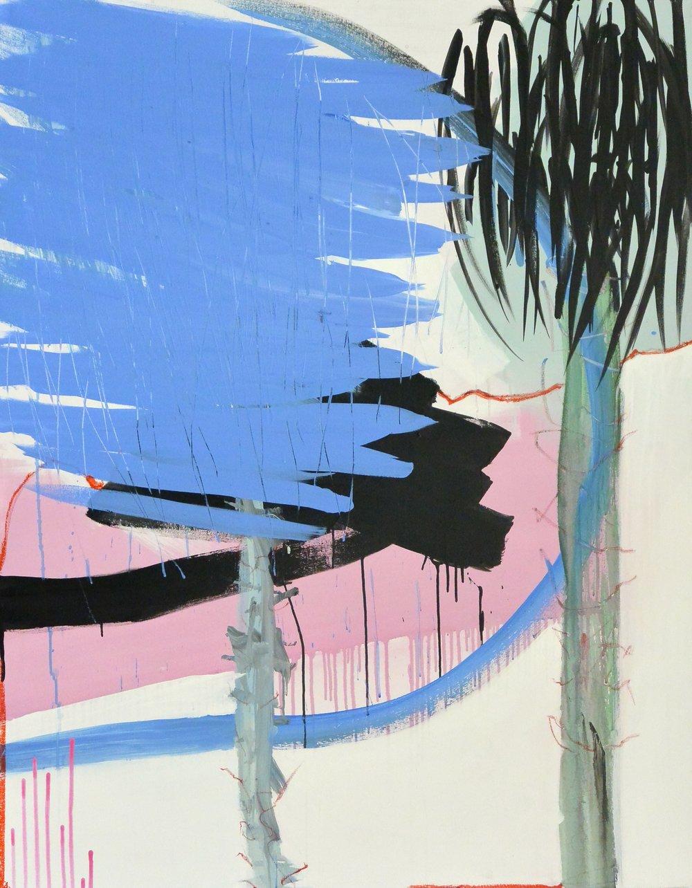 Trio 3 Acrylique sur toile 146 x 114 cm